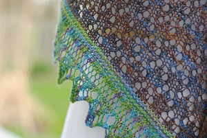 Laidley Shawl Pattern by Mindy Wilkes-Patterns-