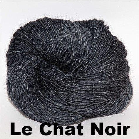 Paradise Fibers Yarn Ancient Arts DK Yarn - Meow Collection Le Chat Noir - 14