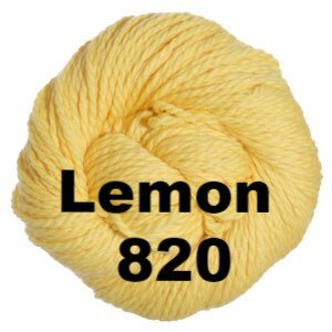 Cascade 128 Superwash Yarn Lemon 820 - 45