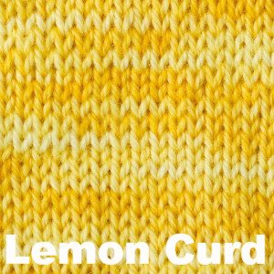 Sweet Georgia Tough Love Sock - Semi Solids-Yarn-Lemon Curd-