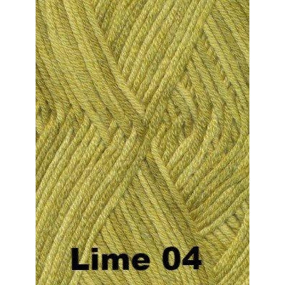 Debbie Bliss Baby Cashmerino Tonals Lime 04 - 6