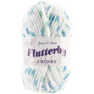 James C. Brett Flutterby Chunky Yarn-Yarn-Lime Twist 08-