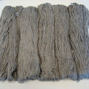 Lotus Undyed Superwash Merino/Yak/Silk Skein-Yarn-