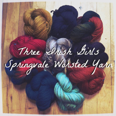 Three Irish Girls Springvale Worsted Yarn  - 1
