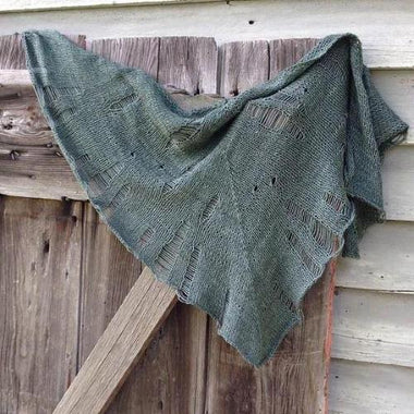 Tattered Shawl Kit-Kits-Paradise Fibers