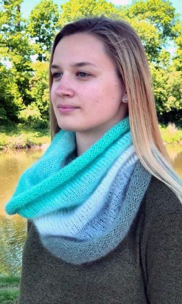 Plymouth Adriafil KidSeta Gradient Cowl Kit-Kits-Paradise Fibers