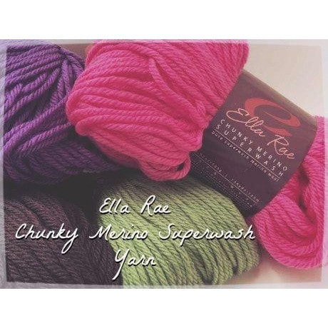 Ella Rae Chunky Merino Superwash Yarn  - 1