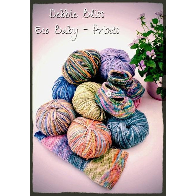 Debbie Bliss Eco Baby Yarn - Prints  - 1