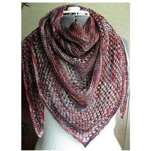 Reyna Shawl Kit Featuring Malabrigo Mora Yarn-Kits-Sabiduria-