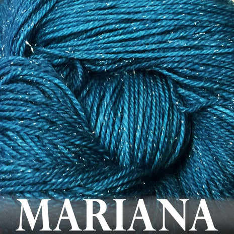 Paradise Fibers Yarn Anzula Luxury Nebula Yarn Mariana - 16