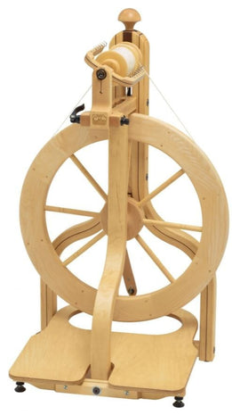 Schacht Matchless Single Treadle Spinning Wheel-Spinning Wheel-Schacht-Paradise Fibers