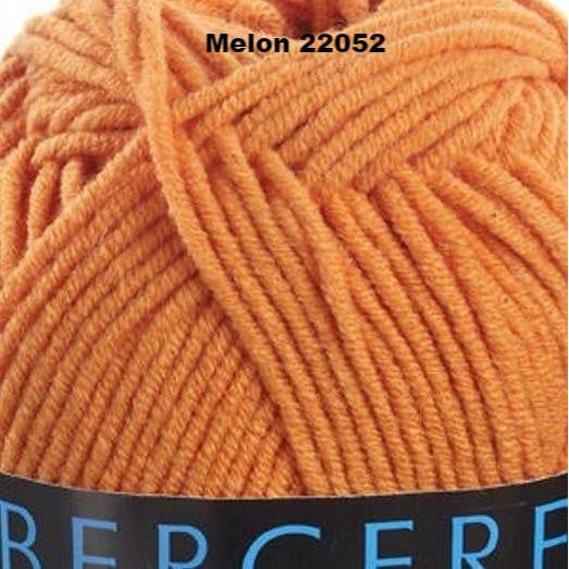 Bergere de France Sonora Yarn Melon 22052 - 10