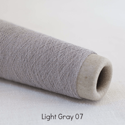 Habu Textiles 20/1 Copper Bamboo Light Gray 07 - 1