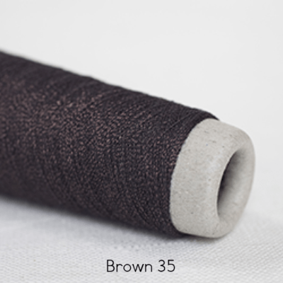 Habu Textiles 20/1 Copper Bamboo Brown 35 - 5