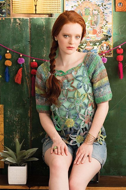 Noro Openwork Pullover Kit  - 1