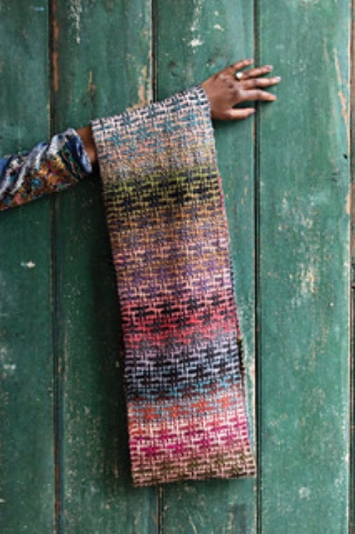 Noro Mosaic Cowl Kit with Downloadable Pattern  - 2