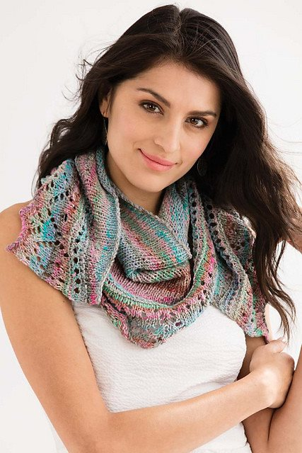 Noro Crescent Shawl Kit  - 1