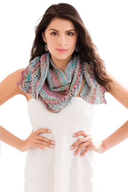 Noro Crescent Shawl Kit  - 3