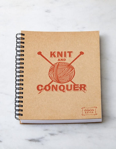 Cocoknits KNIT AND CONQUER Journal  - 1