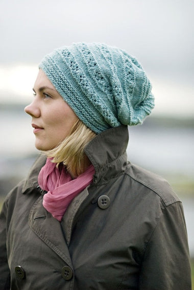 Norie Beanie Pattern by The Shetland Trader  - 1
