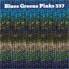 Paradise Fibers Yarn Noro Silk Garden Yarn Blues Greens Pinks 337 - 10