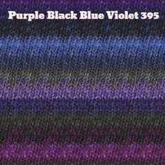 Paradise Fibers Yarn Noro Silk Garden Yarn Purple Black Blue Violet 395 - 28