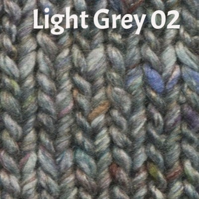Noro Silk Garden Solo Yarn Light Grey 02 - 3