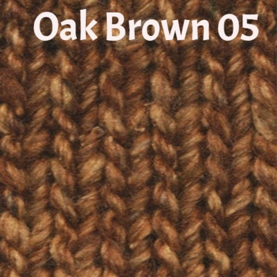 Noro Silk Garden Solo Yarn Oak Brown 05 - 6