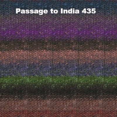 Noro Silk Garden Yarn Passage to India 435 - 47