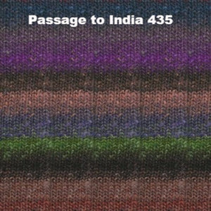 Paradise Fibers Yarn Noro Silk Garden Yarn Passage to India 435 - 47