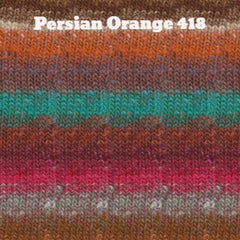 Paradise Fibers Yarn Noro Silk Garden Yarn Persian Orange 418 - 37