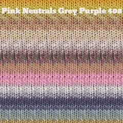 Paradise Fibers Yarn Noro Silk Garden Yarn Pink Neutrals Grey Purple 408 - 32