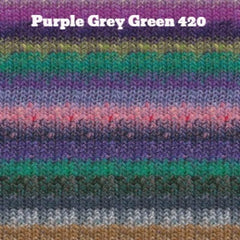 Paradise Fibers Yarn Noro Silk Garden Yarn Purple Grey Green 420 - 38