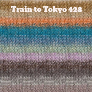 Paradise Fibers Yarn Noro Silk Garden Yarn Train to Tokyo 428 - 43