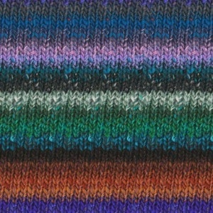 Noro Obi Yarn Color Green, Blue, Black, Pink 10