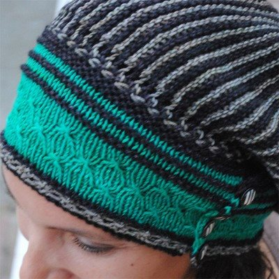 Paradise Fibers Pattern Olana Slouch Hat by Grace Akhrem Pattern  - 2