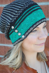 Paradise Fibers Pattern Olana Slouch Hat by Grace Akhrem Pattern  - 5