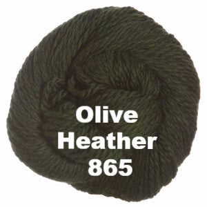Cascade 128 Superwash Yarn Olive Heather 865 - 69
