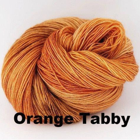 Paradise Fibers Yarn Ancient Arts DK Yarn - Meow Collection Orange Tabby - 16