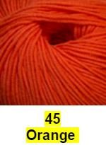 Cascade Longwood Yarn Orange 45 - 10