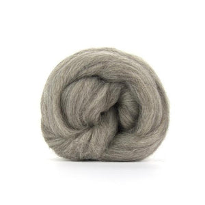 Paradise Fibers Grey Shetland Top-Paradise Fibers-4oz-Paradise Fibers