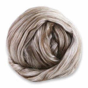Paradise Fibers 50/50 Yak/Mulberry Silk Blend-Fiber-4oz-