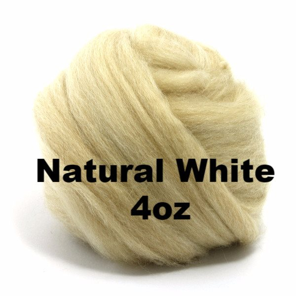 Paradise Fibers Baby Camel Roving (4 oz bag) Natural White / 4oz - 2