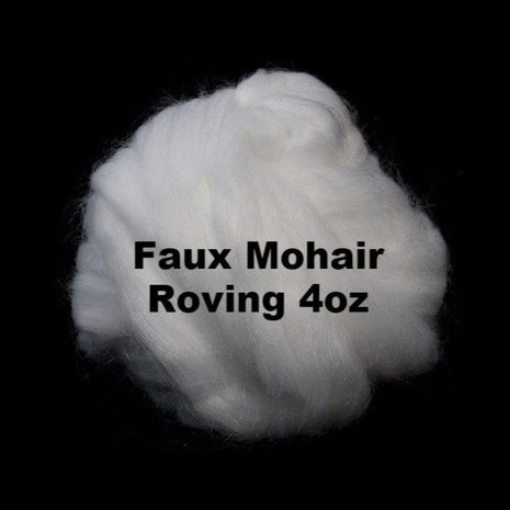 Paradise Fibers Faux Mohair Roving 4oz - 2