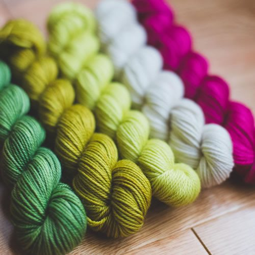 Sweet Georgia Yarns Party of Five Mini-Skein Sets  - 1