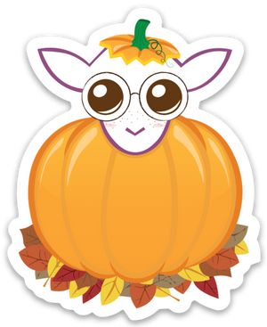 Paradise Fibers Sheep Stickers-Stickers-Pewempkin Patch-