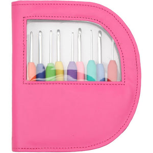 Waves Crochet Hook Set by Knitter's Pride Pink - 2