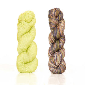 Butterfly/Papillon Shawl Kit featuring UrthYarns-Kits-Pistachio/3006-