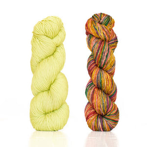 Butterfly/Papillon Shawl Kit featuring UrthYarns-Kits-Pistachio/3008-