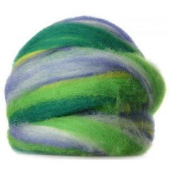 Potluck Roving 8oz Ball Iris PL - 17